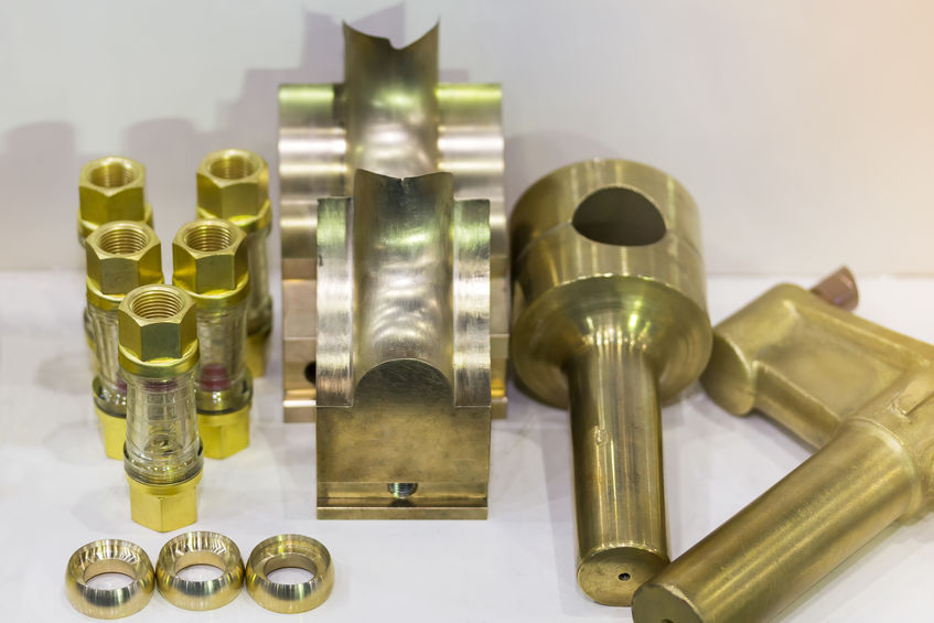 sample machined parts