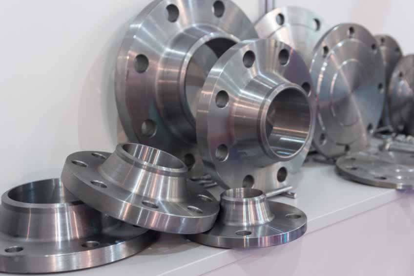 Metal parts made on a lathe